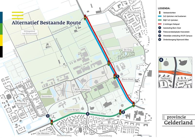 Alternatief Bestaande Route
